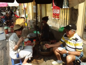 drink with local people