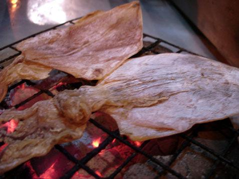 grill quid with anchol