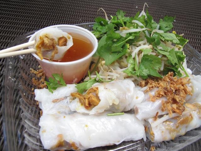 banh cuon at Tay Ho Hanoi