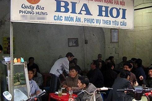 Hanoi bia hoi shop