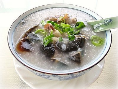 bowl of fish porridge