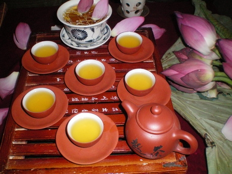 Tray of tea